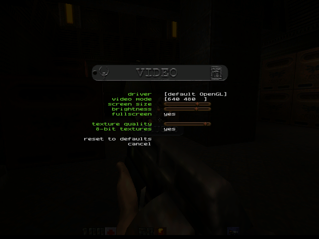Quake II Settings