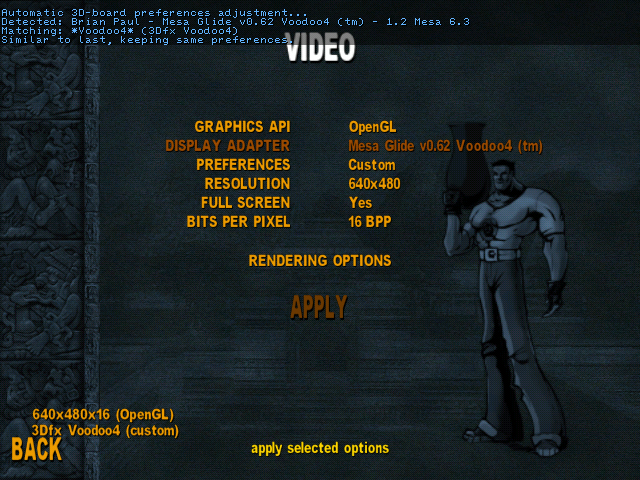 Serious Sam SE Settings
