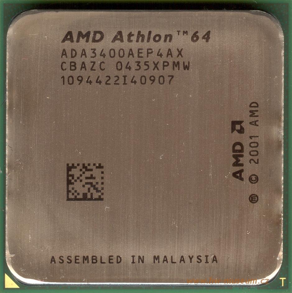 Amd Athlon 64 3400 Newcastle S754 Hardware Museum