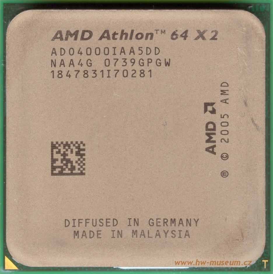 amd athlon 64 x2 4000 brisbane hardware museum