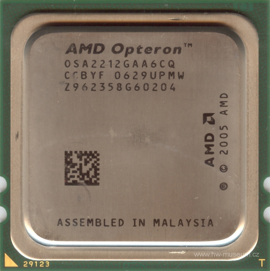 Amd Opteron 2212 Hardware Museum