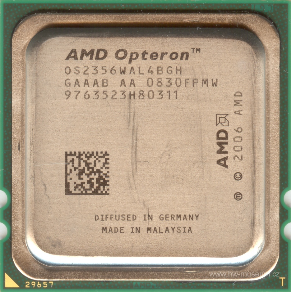 AMD Opteron 2356 (front side)