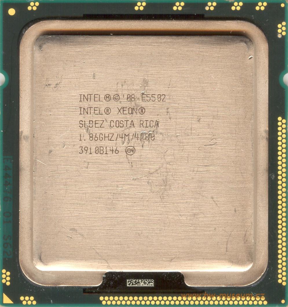 Intel Xeon E5502 - Hardware museum