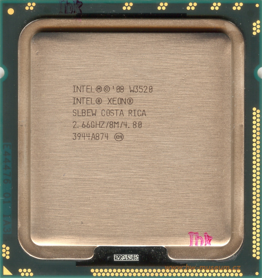 Intel Xeon W3520 - Hardware museum