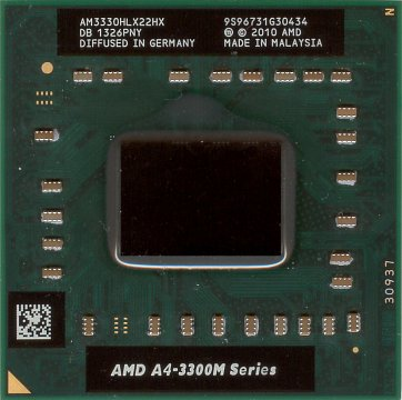 AMD A4-3300M (front side)