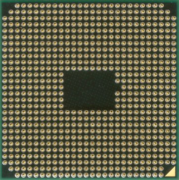 AMD A6-3400M (ES) (back side)