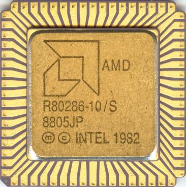 AMD Am286-10 (front side)