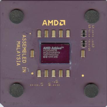 AMD Athlon 1200 (FSB 200) (front side)