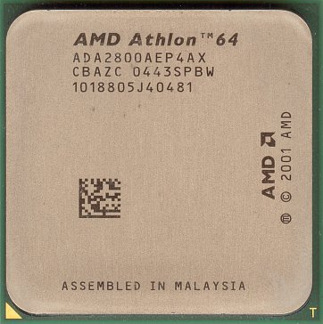 AMD Athlon 64 2800+ (NewCastle, s754) (front side)
