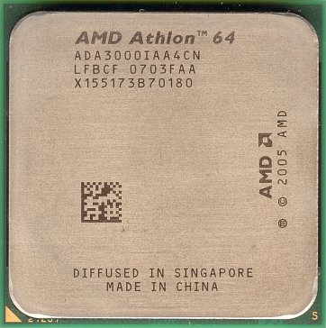 AMD Athlon 64 3000+ (Orleans) (front side)