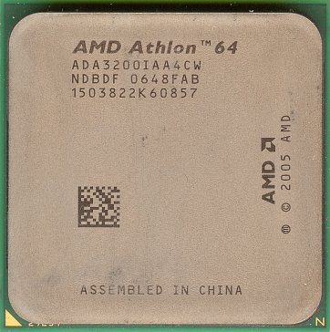 AMD Athlon 64 3200+ (Orleans) (front side)
