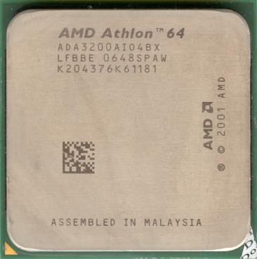 AMD Athlon 64 3200+ (Venice, s754) (front side)