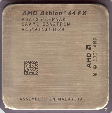 AMD Athlon 64 FX-51 (front side)