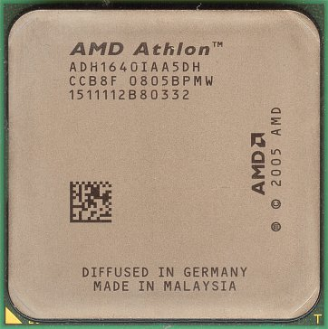 AMD Athlon 64 LE-1640 (front side)