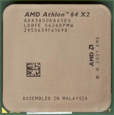 AMD Athlon 64 X2 3800+ (Manchester) (front side)