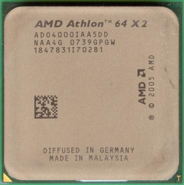 AMD Athlon 64 X2 4000+ (Brisbane)