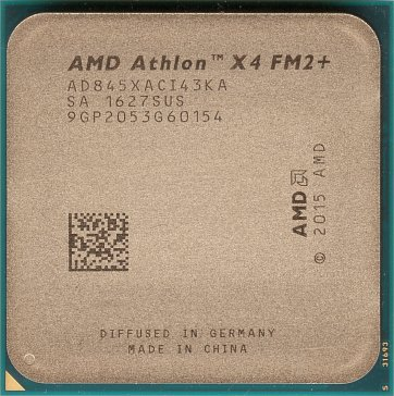 AMD Athlon X4 845 (front side)