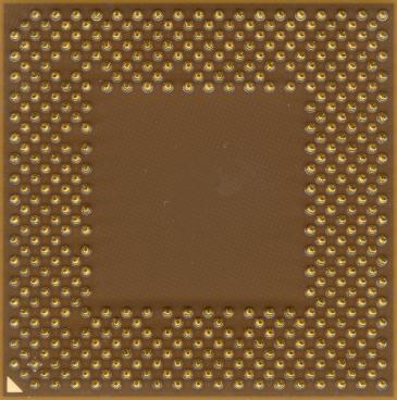 AMD Athlon XP-M 1700+ (back side)