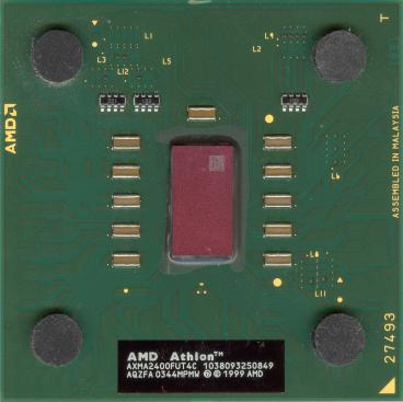 AMD Athlon XP-M 2400+ (front side)