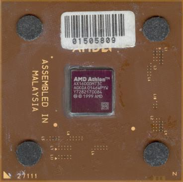 AMD Athlon XP 1600+ (front side)