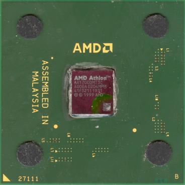 AMD Athlon XP 1700+ (front side)