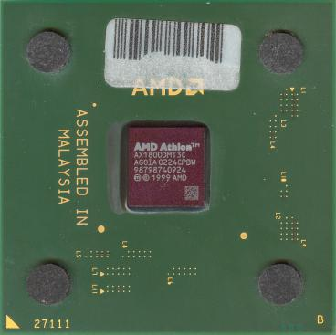 AMD Athlon XP 1800+ (front side)