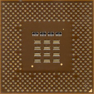AMD Athlon XP 2000+ (back side)