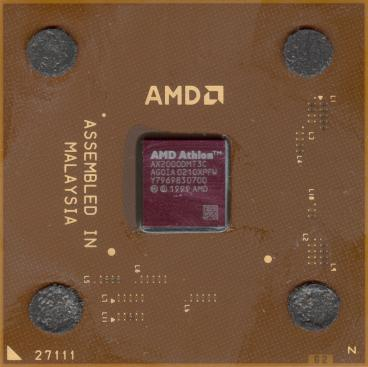 AMD Athlon XP 2000+ (front side)