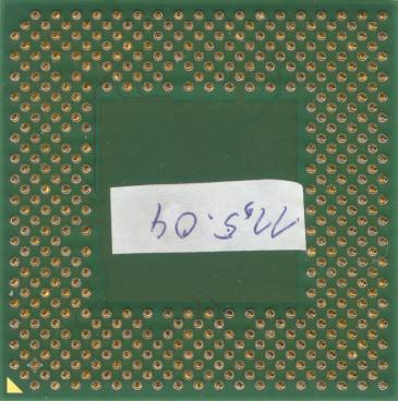 AMD Athlon XP 2200+ (back side)