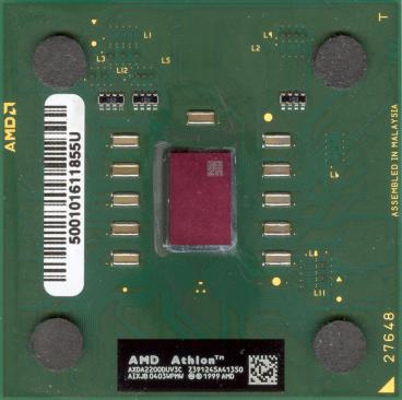 AMD Athlon XP 2200+ (front side)