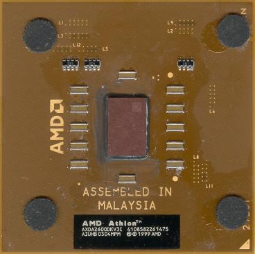 AMD Athlon XP 2600+ (Thoroughbred)