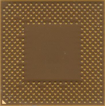 AMD Athlon XP 2600+ (Thoroughbred, FSB 333) (back side)