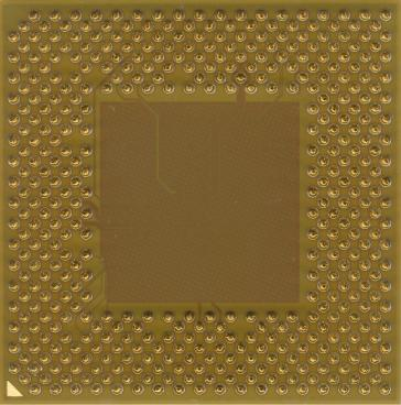 AMD Athlon XP 3000+ (back side)