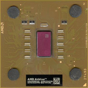 AMD Athlon XP 3000+ (front side)