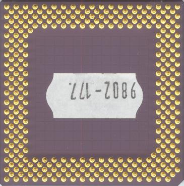 AMD K6-2 266 (back side)