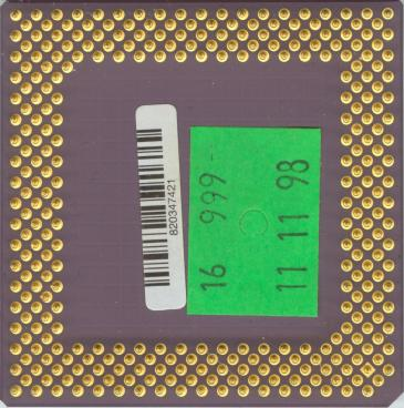 AMD K6-2 300 (back side)