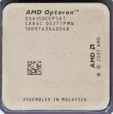 AMD Opteron 150 (front side)