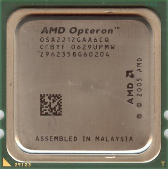 AMD Opteron 2212 (front side)