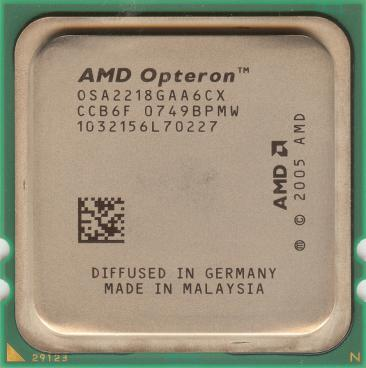 AMD Opteron 2218 (front side)