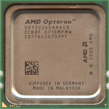 AMD Opteron 2224 SE (front side)