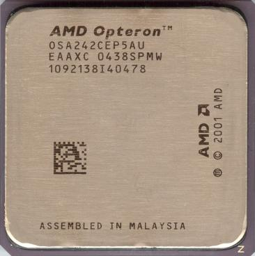 AMD Opteron 242 (front side)