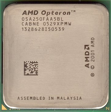 AMD Opteron 250 (front side)