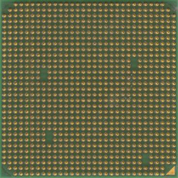 AMD Opteron 254 (back side)