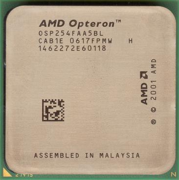 AMD Opteron 254 (front side)