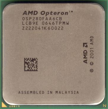 AMD Opteron 280 (front side)