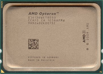 AMD Opteron 6136 (front side)
