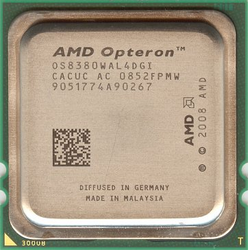 AMD Opteron 8380 (front side)