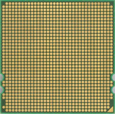 AMD Opteron 8384 (back side)