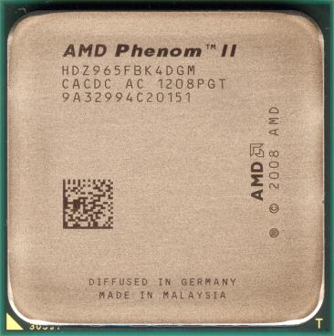 AMD Phenom II X4 965