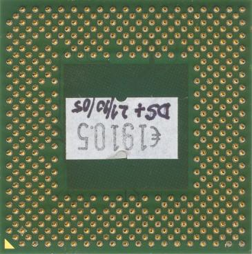AMD Sempron 2200+ (Thoroughbred) (back side)